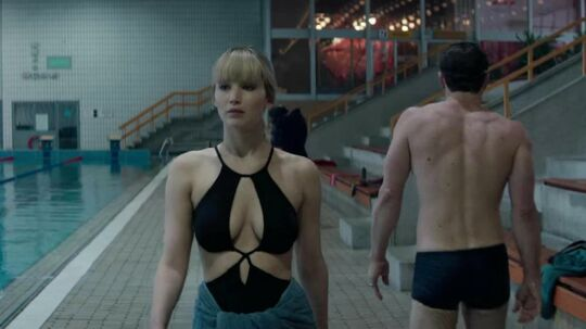 Stillbillede fra filmen 'Red Sparrow'.