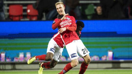 Tobias Salquist udlignede for Silkeborg til slutresultatet 1-1 mod Lyngby, og han scorer et 12-tal fra BT.