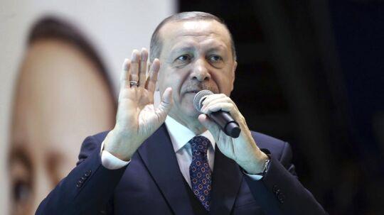 Præsident Erdogan.