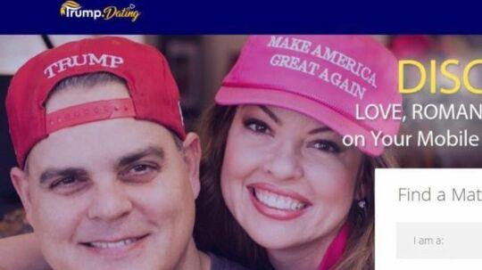 Ægteparret Barrett og Jodi Riddleberger optræder på et dating-site for Trump-tilhængere. For 25 år siden fik han en dom for et seksuelt forhold til en blot 15-årig pige.