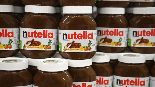 Nutella-glassene bliver stjålet i store mængder, det får nu konsekvenser