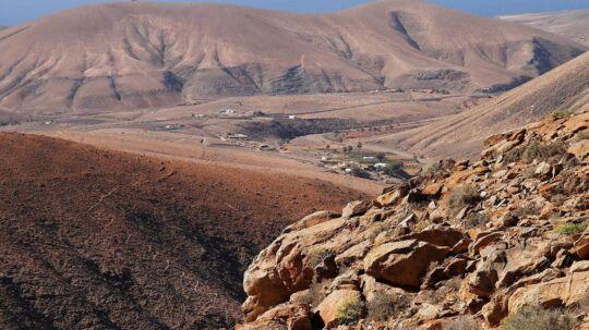Bjerge i Fuerteventura