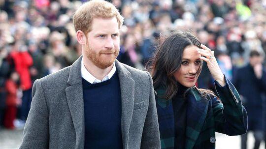 Politiet undersøger et brev som er sendt til prins Harrys forlovede Meghan Markle.