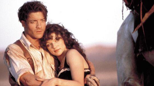 Her ses han sammen med Rachel Weisz i filmen 'Mumien' fra 1999.