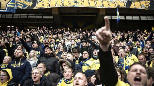 Fansene i Brøndby kan se frem til en forbedret stadion-oplevelse i næste sæson. (Foto: Ida Guldbæk Arentsen/Scanpix 2017)