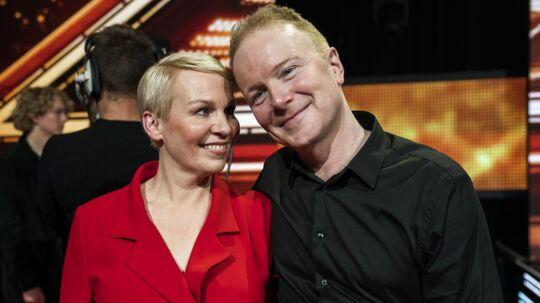 'X Factor' 11, Liveshow 1 i DR Byen, fredag den 23. februar 2018. Annemette og Tomas.