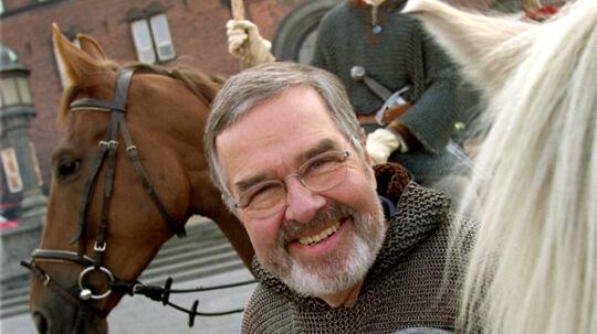 Tv-værten Piet van Deurs er død, 87 år gammel. Scanpix/Jørgen Jessen/arkiv