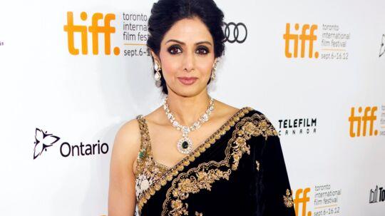 Sridevi Kapoor var den førende filmstjerne i Bollywood i flere årtier og blev betragtet som den første kvindelige superstjerne i Indiens mandsdominerede filmindustri. Hun blev også kendt for sin komiske timing og hendes evner som danser, der har stor betydning i de melodramaer med sang og dans, som kendetegner de fleste indiske film. Reuters/Mark Blinch