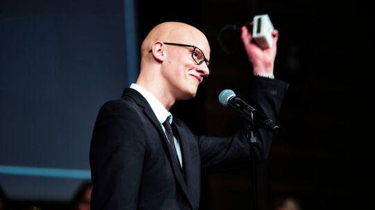 DRs nye dramachef Christian Rank, da han fik en Robert som producer af 'Arvingerne' i 2015.