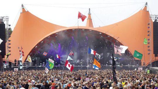 Her ses Orange Scene på Roskilde Festival, hvor Nine Inch Nails sandsynligvis skal optræde