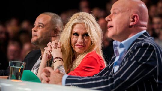 Remee, Sanne og Blachmann. X Factor Liveshow 2 i DR Byen. Fredag den 2. marts.