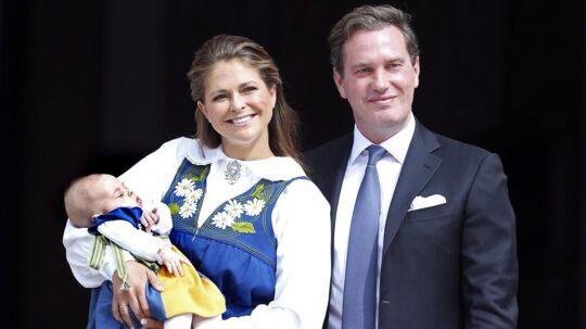 Prinsesse Madeleine og Christopher O'Neill har tre børn sammen.