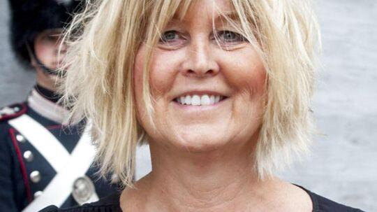 Her ses daværende afdelingschef i Rigspolitiet Bettina Jensen, da hun ankom til audiens mandag d. 16. juni 2014 på Christiansborg Slot.
