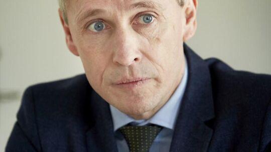 Økonomidirektør hos Rigspolitiet Thomas Østrup Møller.