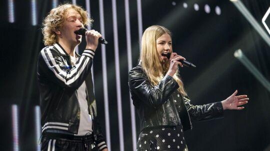Sol og Christian er ude af årets X Factor.