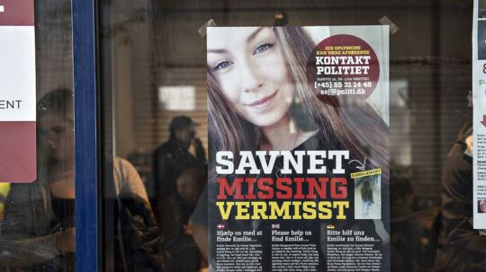17-årige Emilie Meng forsvandt tidligt om morgenen i Korsør den 10. juli 2016, da hun var på vej hjem fra en bytur med to veninder. Først fem en halv måned senere blev hendes lig fundet i et søområde ved Borup. (Foto: Jens Nørgaard Larsen/Scanpix 2016)