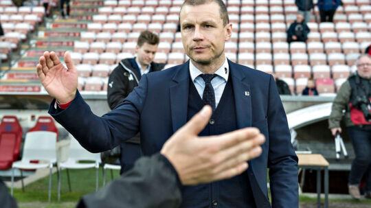 Randers FC's tidligere direktør Michael Gravgaard.