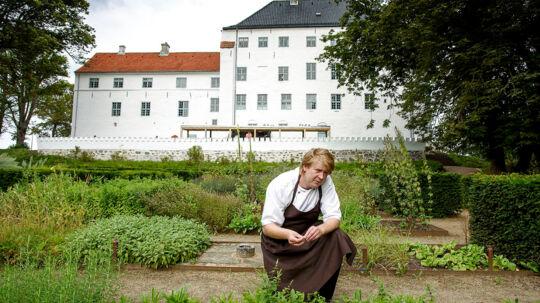 Køkkenchef Claus Henriksen Dragsholm slot. SLOTSKØKKENET