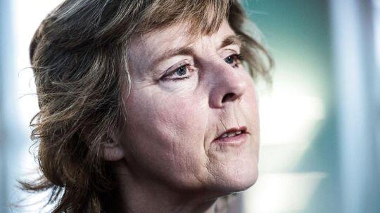 Connie Hedegaard er tiltrådt som ny bestyrelsesformand for Berlingske Media.