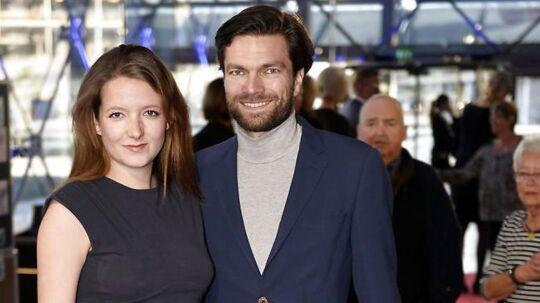 Thomas Skov og hans hustru Emilie til DRs jubilæum i 2015.
