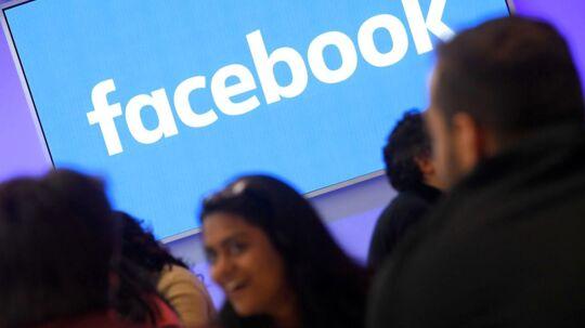 Facebook har indkaldt sine ansatte til orienteringsmøde tirsdag eftermiddag dansk tid. Arkivfoto: Toby Melville, Reuters/Scanpix