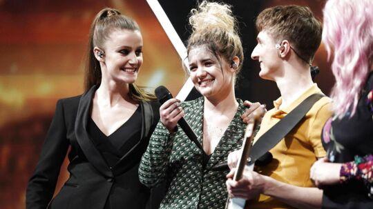 Place on Earth. X Factor 1, liveshow 5 23. Marts 2018. (Foto: Martin Sylvest/Scanpix 2018)