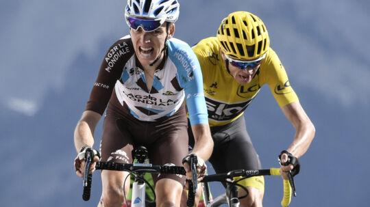Kampen om Tour de France-sejren begynder i 2018 i Noirmoutier-en-l'Île. Scanpix/Philippe Lopez/arkiv