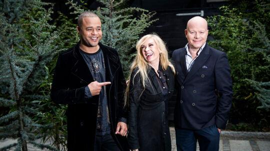 Remee, Sanne Salomonsen og Thomas Blachman fik æren at være de sidste dommere i DR's udgave af 'X Factor'.
