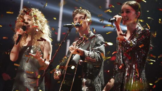 Place on Earth vinder X Factor finalen den 6. April 2018. (Foto: Martin Sylvest/Scanpix 2018)