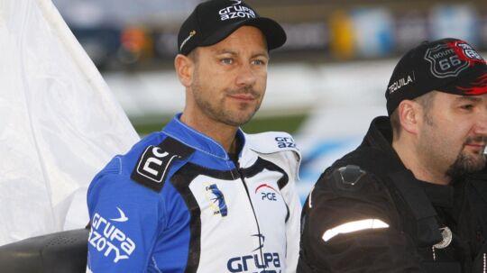 Nicki Pedersen ses her for sin nye polske klub, inden han søndag aften gjorde comeback efter 11 måneders skadespause. Scanpix/Sportxpress