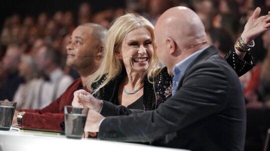 Sanne Salomonsen har klaret det fremragende som X Factor-dommer, mener Elisa Lykke.