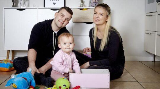 Simone, Sebastian og Emliy. Foto: Kanal 4