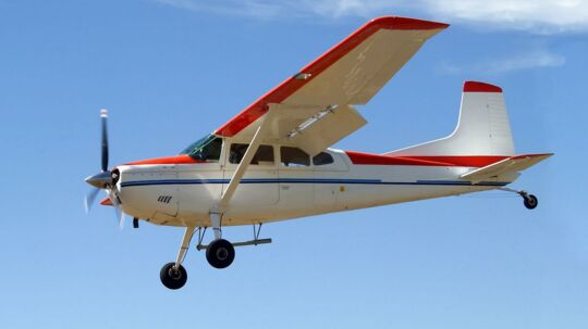Det ene fly i ulykken betegnes som et sportsfly. Arkivfoto