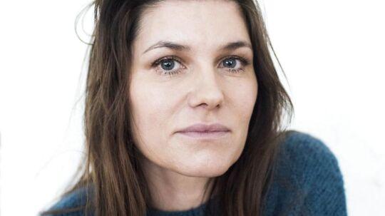 Arkivfoto af sangerinden Pernille Rosendahl.