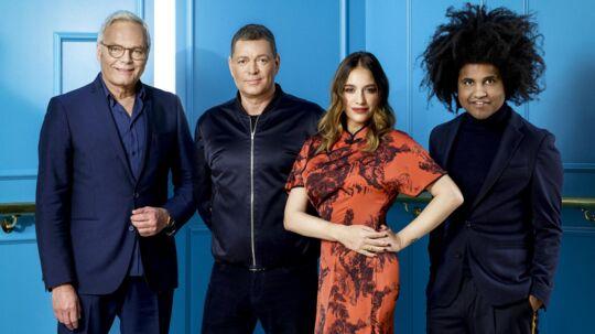Jarl Friis-Mikkelsen, Peter Frödin, Cecilie Lassen og Thomas Buttenschøn var dommere i den seneste udgave af 'Danmark har talent'.
