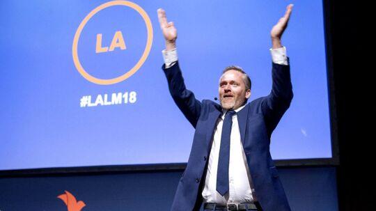 Anders Samuelsen præsenterer 7 gode ting Liberal Alliance har opnået.