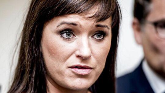 (ARKIV) Minister for offentlig innovation Sophie Løhde.