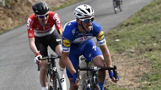 Julian Alaphilippe brød Alejandro Valverdes store dominans under forårsklassikeren og tog dermed en stor sejr.