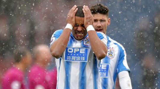 "Mathias ""Zanka"" Jørgensen skiftede i sommer fra FC København til Huddersfield Town. Men ifølge statistiksiden Whoscored.com har danskeren ikke fået den bedste start i England."