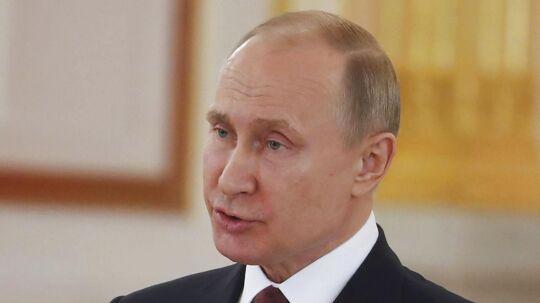 (ARKIV) Vladimir Putin.