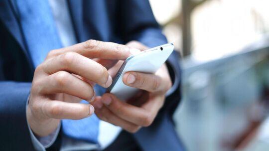 Telia har mistet 24.000 mobilkunder i første kvartal. Arkivfoto