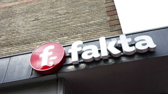 (ARKIV) Fakta på hjørnet af Sølvgade og Borgergade, den 6. april 2017. Der er i dag lidt over 400 Fakta-butikker i Danmark, men der vil snart være 47 færre, oplyser Coop. Det skriver Ritzau, torsdag den 19. april 2018.. (Foto: Sofie Mathiassen/Ritzau Scanpix)