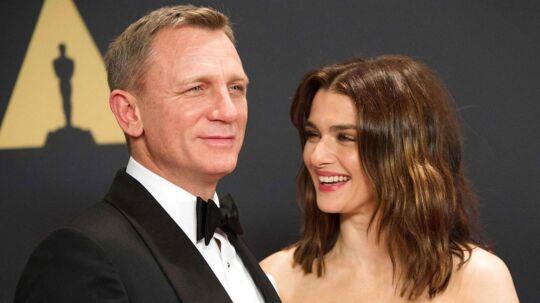 Daniel Craig og Rachel Weisz venter deres første barn sammen.