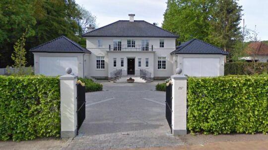 Her ses villiaen på Langelinie 197 i Odense, der er sat til salg.