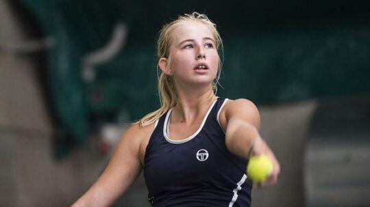 Unge Clara Tauson fortsætter med at imponere for det danske Fed Cup-hold.