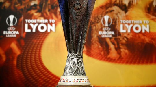 Europa League-trofæet blev stjålet i Mexico.