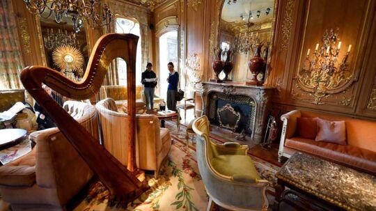 """'""""Le Salon Proust' på Hotel Ritz Paris er ikke et hvilket som helst hotel. Her ses '""""Le Salon Proust'."""