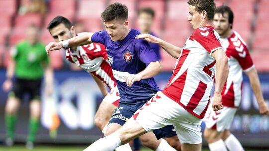 FC Midtjylland dummede sig søndag mod AaB.