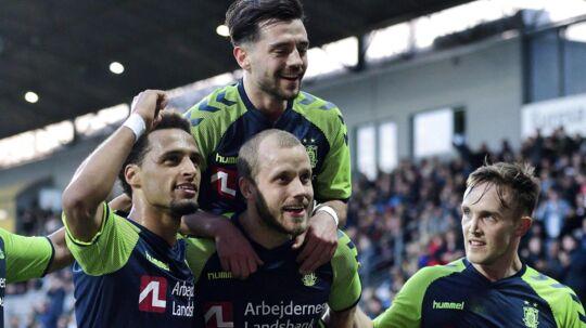 Brøndby er nu fem point foran FC Midtjylland