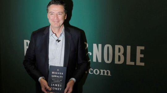 Den tidligere FBI-chef James Comey har udgivet bogen 'A Higher Loyalty', der har skabt debat i USA.